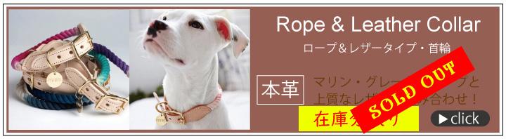 ロープ&レザー首輪