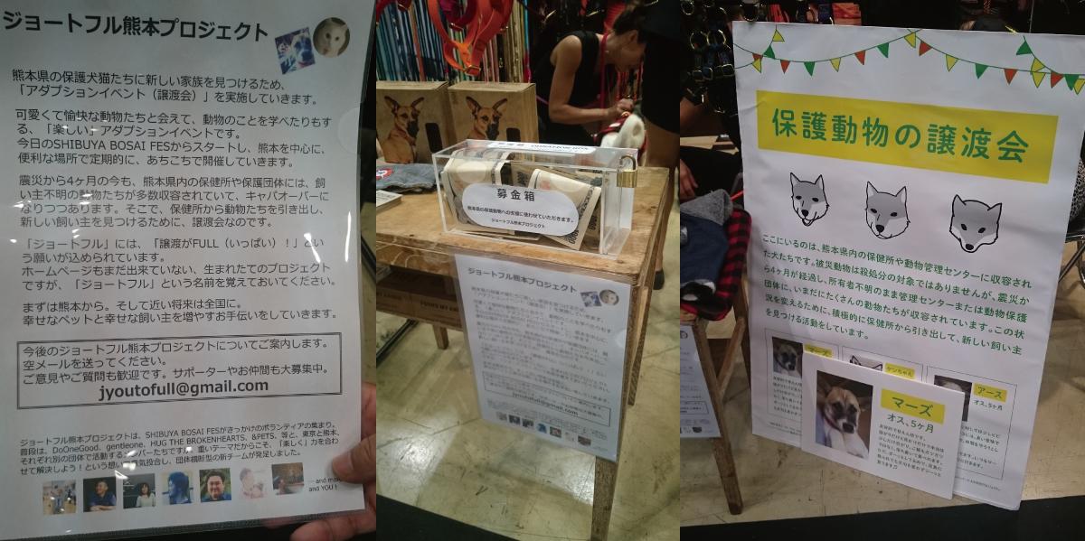 ファウンド・マイ・アニマル ジョートフル熊本プロジェクト